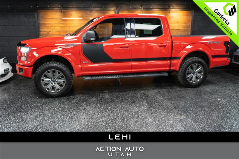 2016 FORD F-150 XLT 4X4 SPORT 3.5 TWIN TURBO