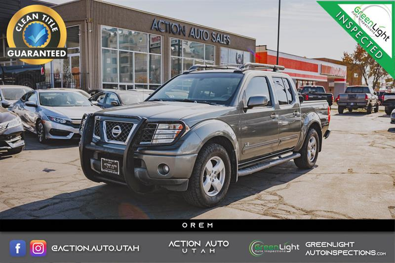 2005 NISSAN FRONTIER 2WD LE