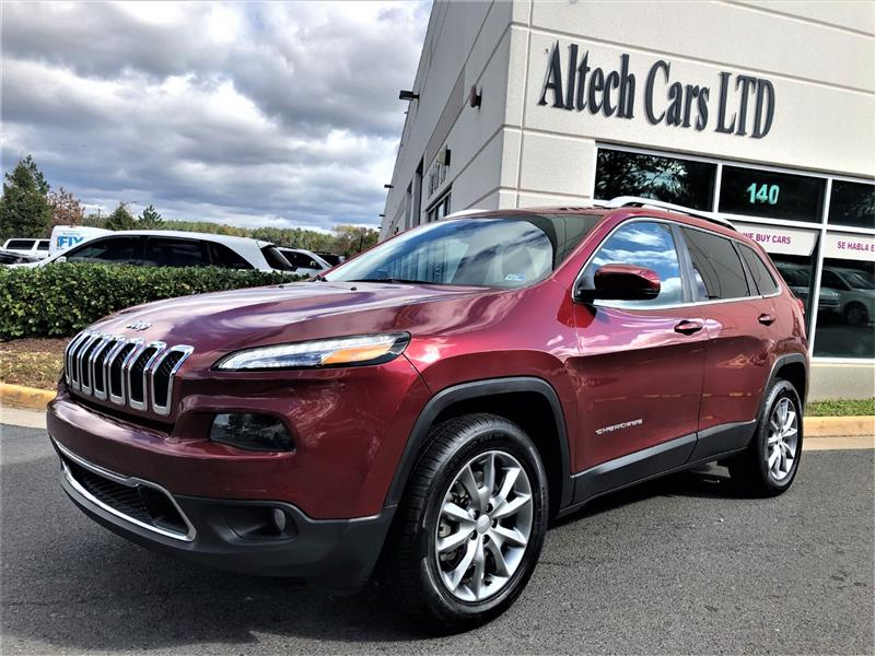 2017 JEEP CHEROKEE 4WD LIMITED