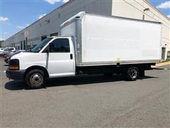 2008 GMC SAVANA COMMERCIAL CUTAWAY 16 FT Box Truck