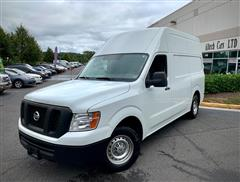 2016 NISSAN NV Cargo 2500 HD w/ High Roof
