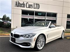 2015 BMW 4 SERIES 435i xDrive Convertible