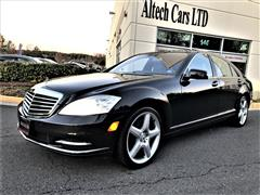 2011 MERCEDES-BENZ S-CLASS S 550 4MATIC w/ Premium Package