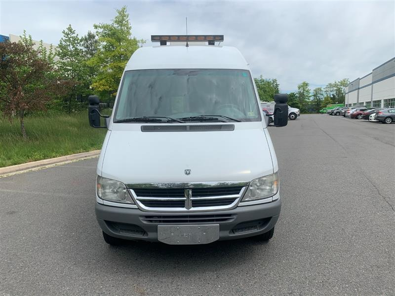 2006 DODGE SPRINTER 3500 High Roof 158 WB with Generator