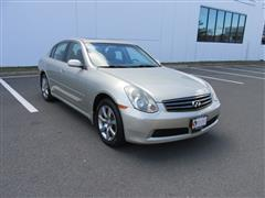 2006 INFINITI G35 Sedan G35 AWD WITH NAVIGATION