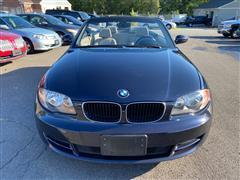 2008 BMW 1 SERIES 128i CONVERTIBLE