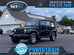 2014 JEEP WRANGLER UNLIMITED Sport/Freedom Edition/Willys Wheeler