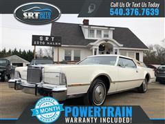 1976 LINCOLN CONTINENTAL MARK IV LIMITED