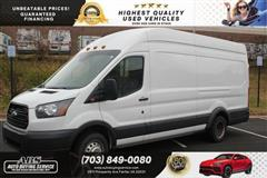 2015 FORD TRANSIT CARGO VAN T-350 HIGHROOF DULLY