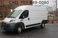 2018 RAM PROMASTER CARGO VAN 1500 high roof