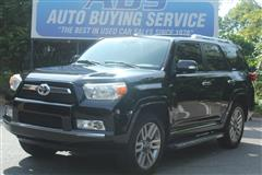 2012 TOYOTA 4RUNNER Limited 4WD with Navigation