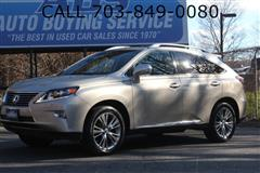 2013 LEXUS RX 450H Hybrid AWD Navi Back Up Camera