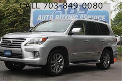 2013 LEXUS LX 570 with Rear Entertainment/Coolbox
