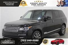 2015 LAND ROVER RANGE ROVER SUPERCHARGED AUTOBIOGRAPHY LWB