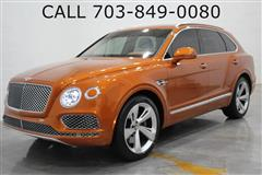 2019 BENTLEY BENTAYGA LIMITED EDITION ORANGE