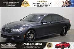 2016 BMW 7 SERIES 750i xDrive M sport Back Seat Package/ Rear DVD