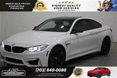 2015 BMW M4 Coupe/ CARBON FIBER ROOF/ RED INTERIOR
