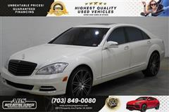 2010 MERCEDES-BENZ S-CLASS S-550 4MATIC SPORT PACKAGE