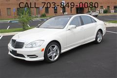2013 MERCEDES-BENZ S-CLASS S550 4MATIC / PANO ROOF / NAVI / BACK-UP CAMERA