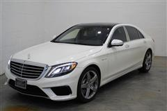 2014 MERCEDES-BENZ S-CLASS S63 AMG REAR ENTERTAINMENT & BACKSEAT PACKAGE