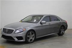 2015 MERCEDES-BENZ S-CLASS S63 AMG REAR ENTERTAINMENT & BACKSEAT PACKAGE