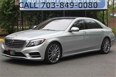 2015 MERCEDES-BENZ S-CLASS S550 4MATIC / PANO ROOF / NAVI / BACK-UP CAMERA