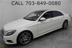 2017 MERCEDES-BENZ S-CLASS S550 4MATIC NAVIGATION with REAR EXECUTIVE SEATING