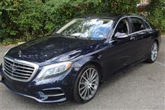 2014 MERCEDES-BENZ S-CLASS S550 4MATIC NAVIGATION with REAR EXECUTIVE SEATING