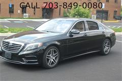 2015 MERCEDES-BENZ S-CLASS S550 4MATIC / PACKAGE 3 / NAVI / BACK-UP CAM