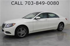 2016 MERCEDES-BENZ S-CLASS S-550 4MATIC SPORT PACKAGE