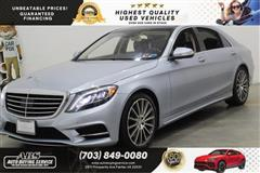 2015 MERCEDES-BENZ S-CLASS S550 4MATIC NAVIGATION with REAR EXECUTIVE SEATING