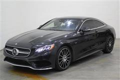 2015 MERCEDES-BENZ S-CLASS S550 4MATIC COUPE EDITION 1 PACKAGE - P88