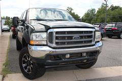 2002 FORD SUPER DUTY F-350 SRW Lariat FX4 Crew Pickup 4X4 Turbo Diesel