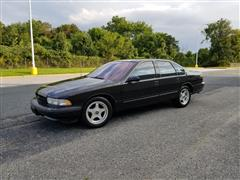 1996 CHEVROLET CAPRICE CLASSIC/IMPALA SS/CAPRICE POLICE/TAXI PKGS