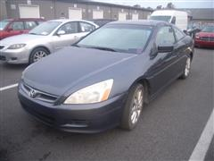 2006 HONDA ACCORD CPE EX-L V6