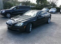 2012 BMW 6 SERIES 640i
