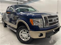 2012 FORD F-150 LARIAT 4WD WITH NAVIGATION AND SUNROOF