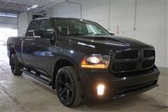 2017 RAM 1500 BLACK SPORT QUAD CAB 4X4