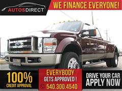 2009 FORD SUPER DUTY F-450 DRW XL/XLT/Lariat/King Ranch/Harley-Davidson