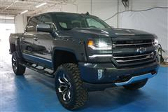 2017 CHEVROLET SILVERADO 1500 LTZ CREW CAB BLACK WIDOW LIFTED