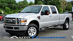 2010 FORD SUPER DUTY F-350 SRW Lariat FX4 Crew Pickup 4X4 Turbo Diesel