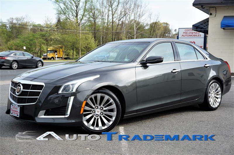 2014 CADILLAC CTS LUXURY SEDAN