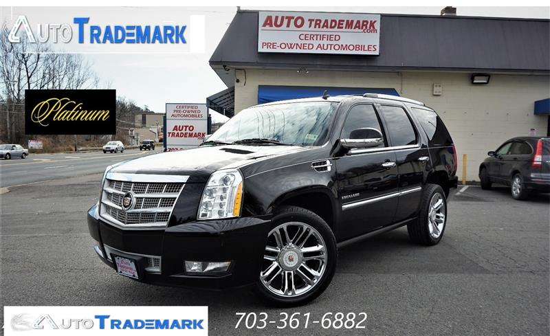 2014 CADILLAC ESCALADE Platinum Edition Awd Multiple Dvd Nav Rvc