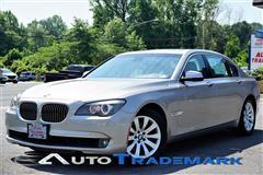 2011 BMW 7 SERIES 750 LI NAV DRIVE ASSIST PKG