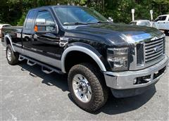 2010 FORD SUPER DUTY F-350 SRW Lariat 4x4 Extended Cab Long Bed