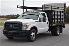 2014 FORD SUPER DUTY F-350 DRW XL SUPER DUTY
