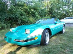 1991 CHEVROLET CORVETTE COLLECTOR EDITION