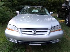 2002 HONDA ACCORD SDN EX-L WITH NAVIGATION SYSTEM & SUNROOF