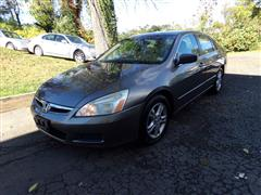 2007 HONDA ACCORD SDN EX-L WITH NAVIGATION SYSTEM & SUNROOF
