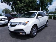 2013 ACURA MDX ADVANCE w/TECHNOLOGY& ENTERTAINMENT SH-AWD